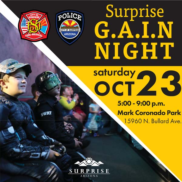 Surprise G.A.I.N. Night flyer